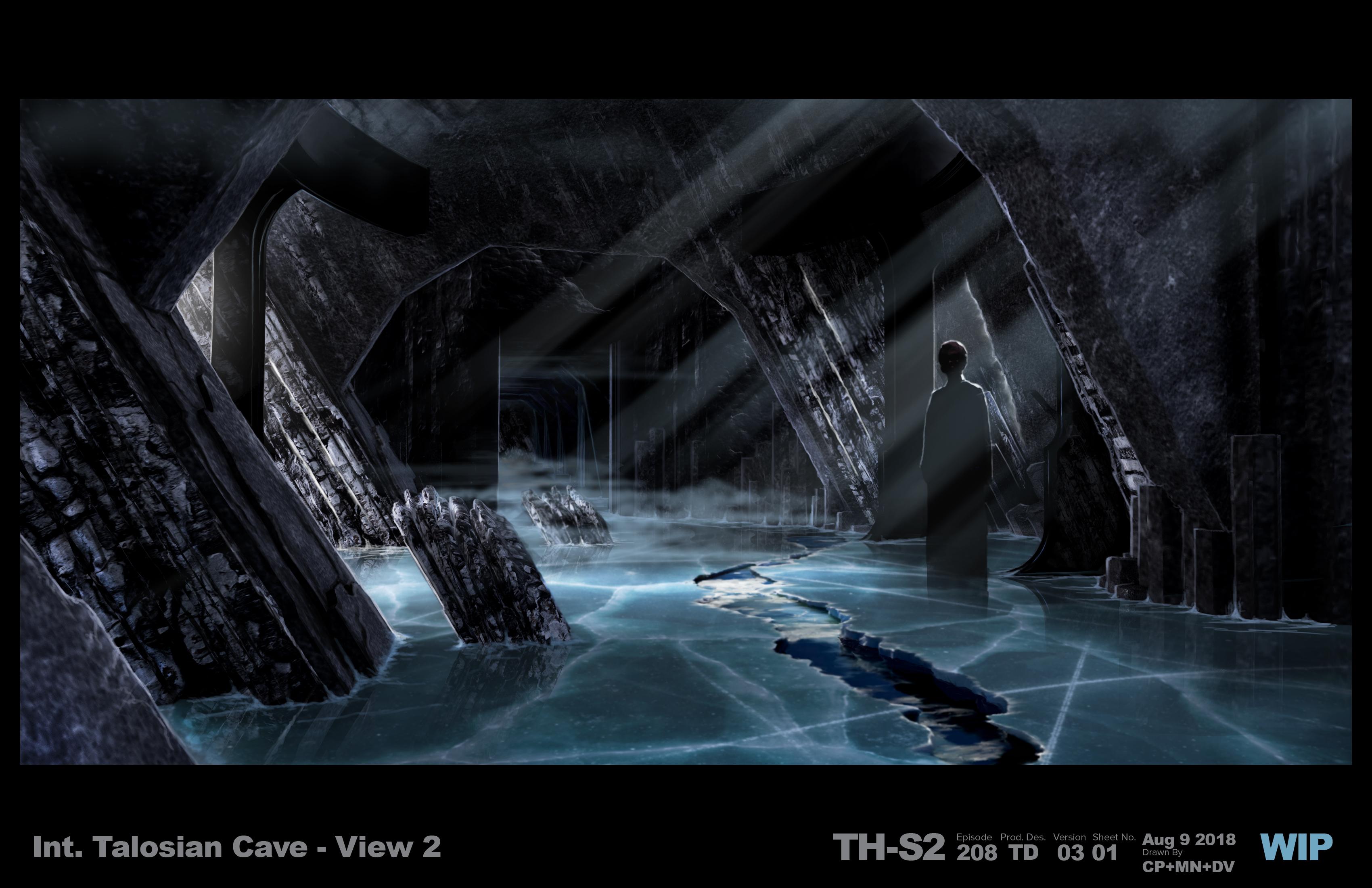 Star Trek - Talosian Cave 208