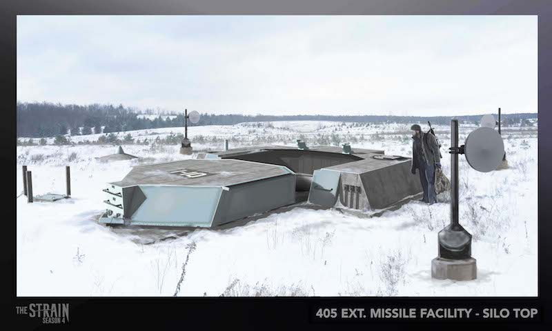 405 Ext. Missile Facility_Silo Top Illustration