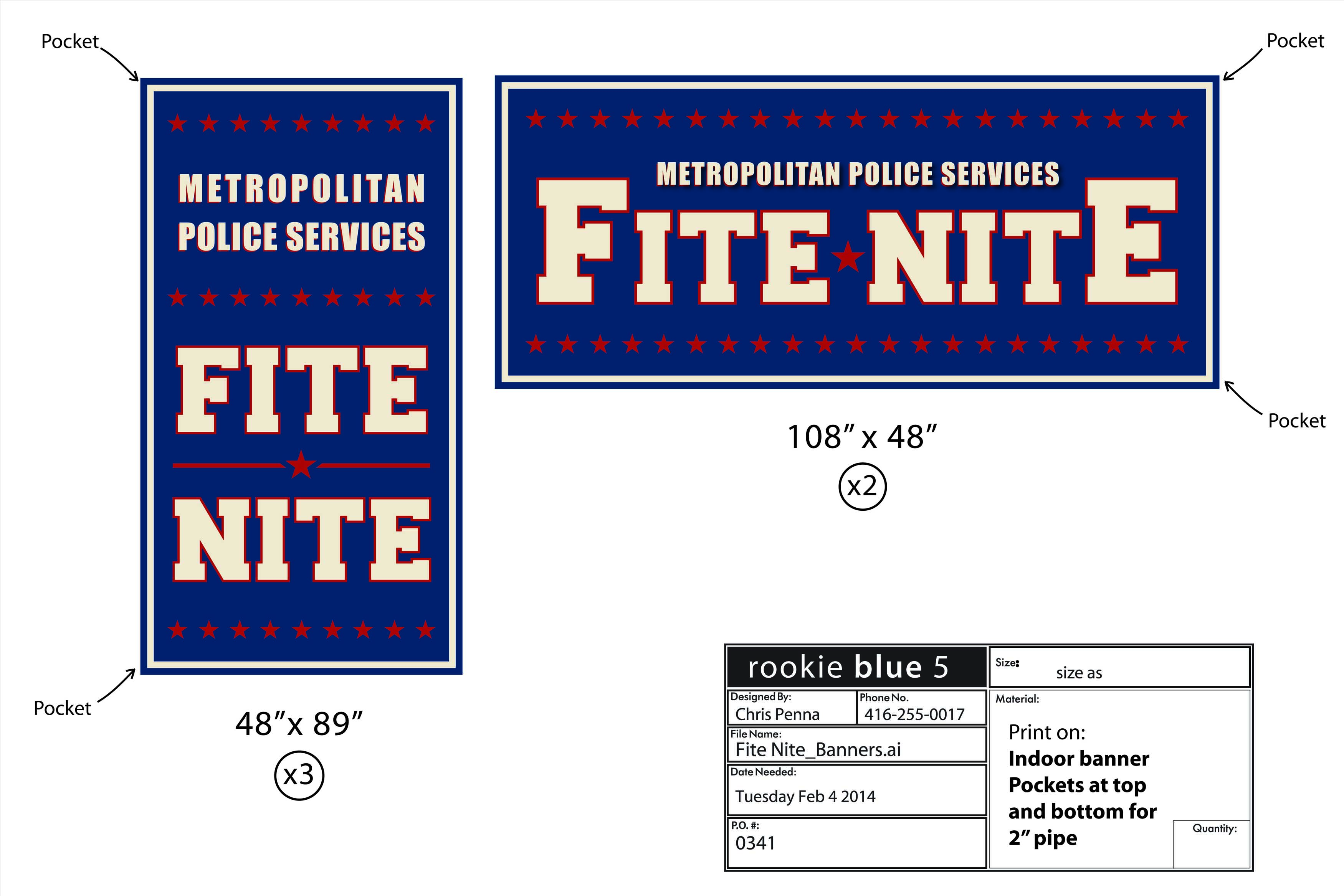 Fite Nite - Rookie Blue