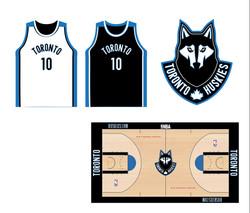 Toronto Huskies Concept