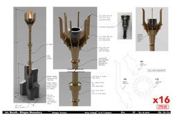 Star Trek - Klingon Torch