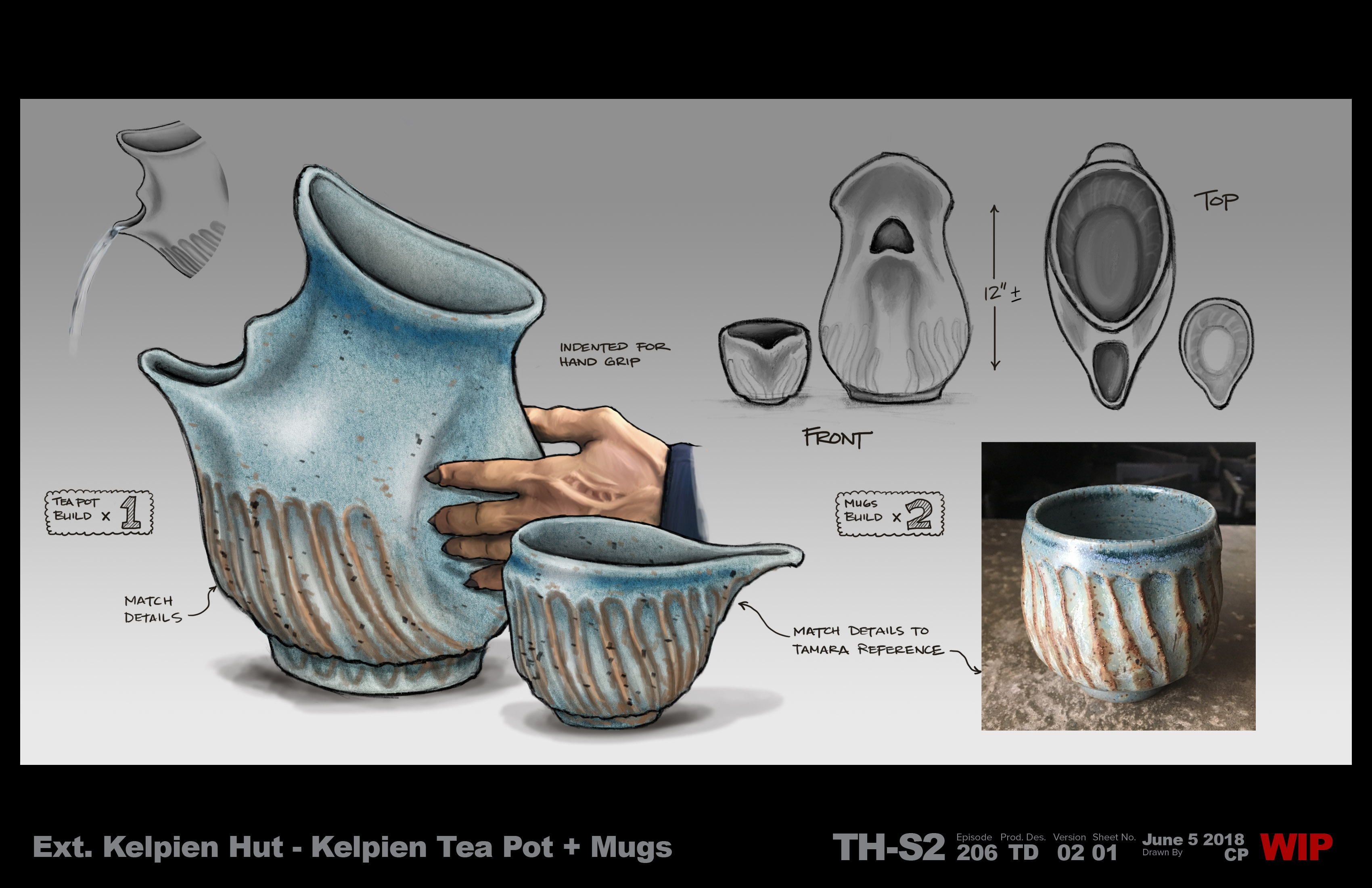 Star Trek - Kelpian Tea Pot 206