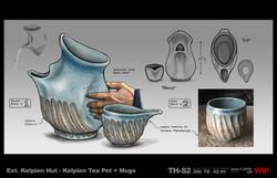 Star Trek - Kelpian Tea Pot 206