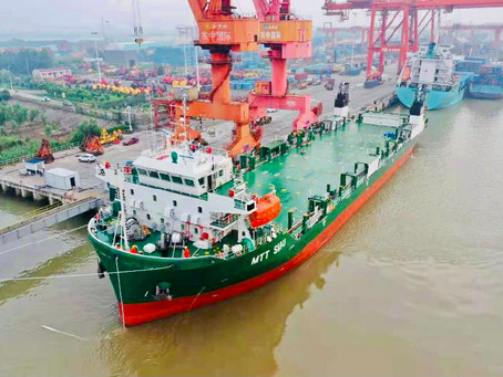 MTT Shipping Takes Delivery of its First River Ship - MTT Sibu