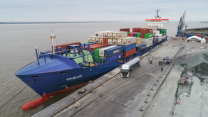 World's 1st SNG-Powered Ship Starts its Carbon-Neutral Voyage