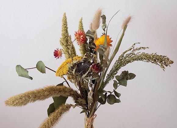 Summer days dried flower bouquet