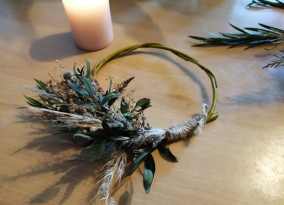 Mini willow wreaths