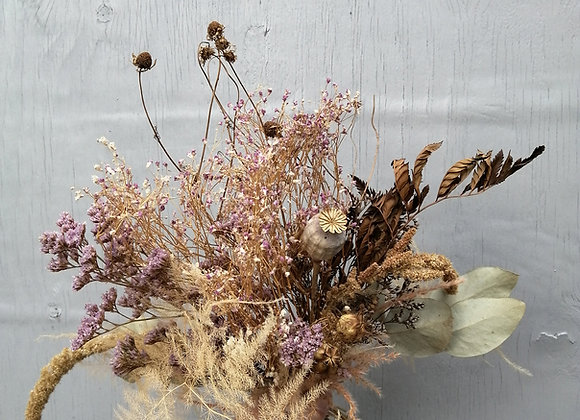 Bespoke dried flower bouquet