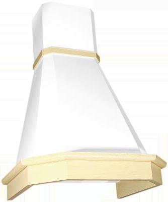Камин Грань 90см (бежевый/дуб бел патина)
