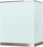 Виолан Glass 60см (нерж/белый)