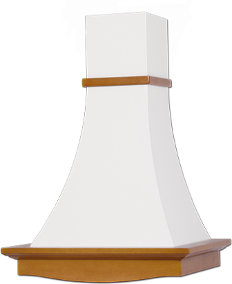 Рококо 90см (белый муар/бук)