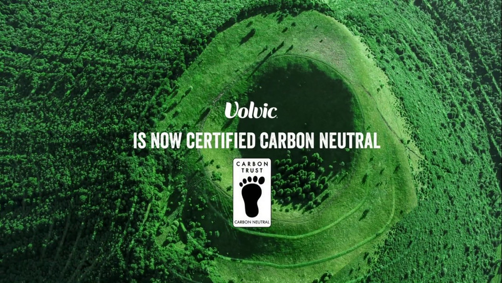 Volvic is certified carbon neutral