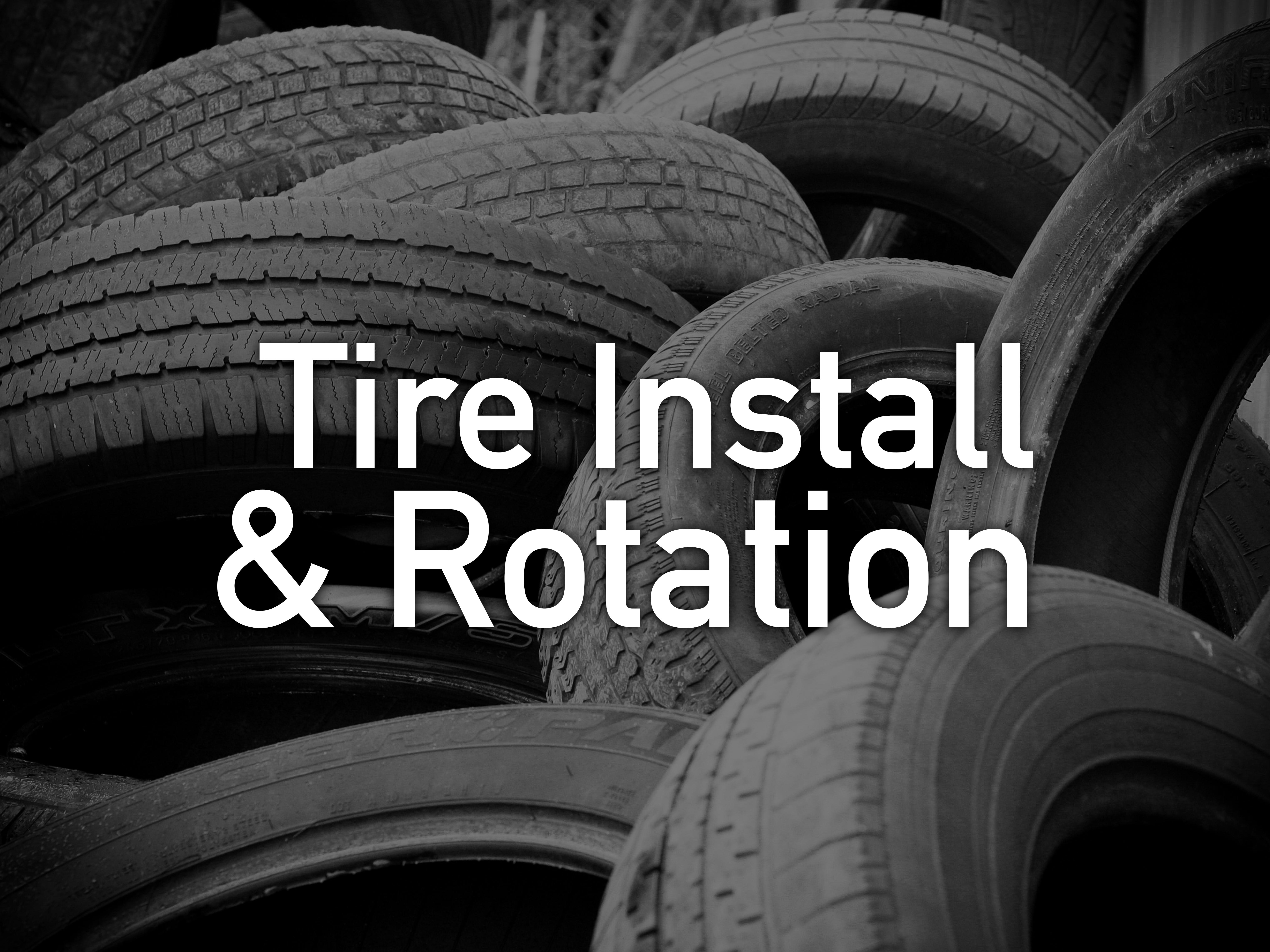 tire install
