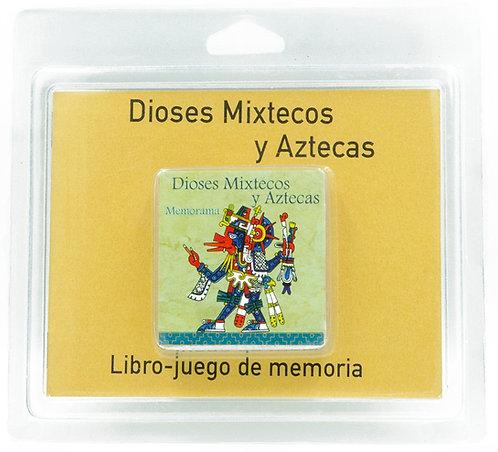 Memorama Dioses Mixtecos y Aztecas