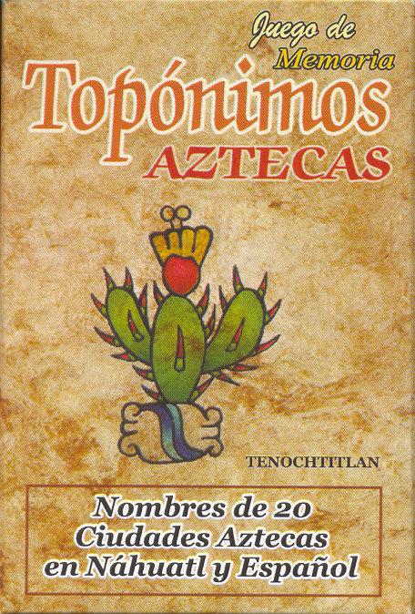 Memorama Topónimos Aztecas