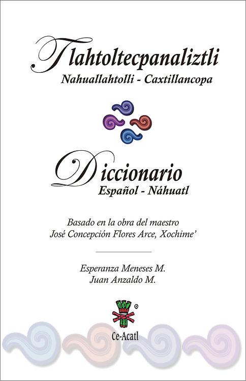 Tlahtoltecpanaliztli Nahuallahtolli-Caxtilancopa / Diccionario Español-Náhuatl