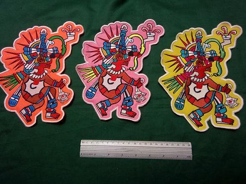 Bordado Quetzalcoatl