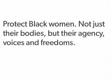 Protect Black Women and Girls.