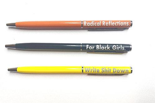Radical Reflections Pen Set