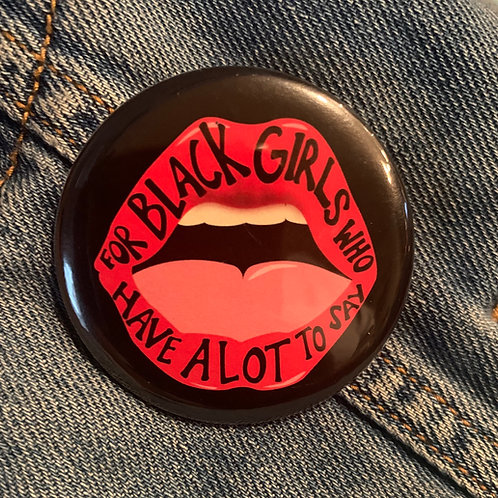For Black Girls Button