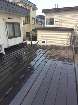 破風板・屋根板金・屋根塗装工事!
