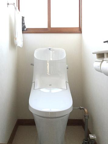 トイレのリフォームは、たったの1日でできるんです!
