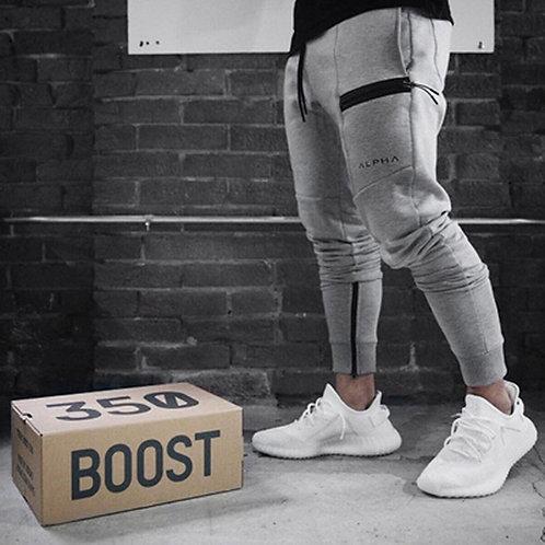 Fitness Pants Casual Sweatpants Fashion High Street Trousers Pants Men Joggers