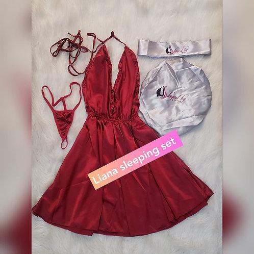 Sleeping Set (Nightgown Dress)