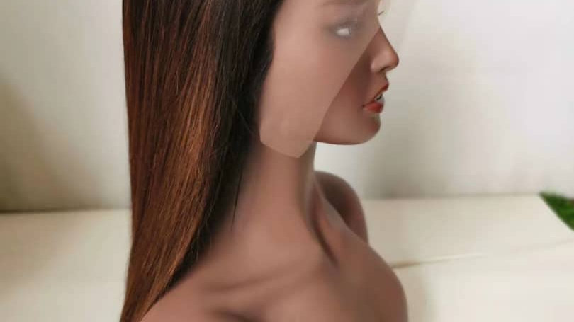 """20"""" T/4 frontal lace wig"""