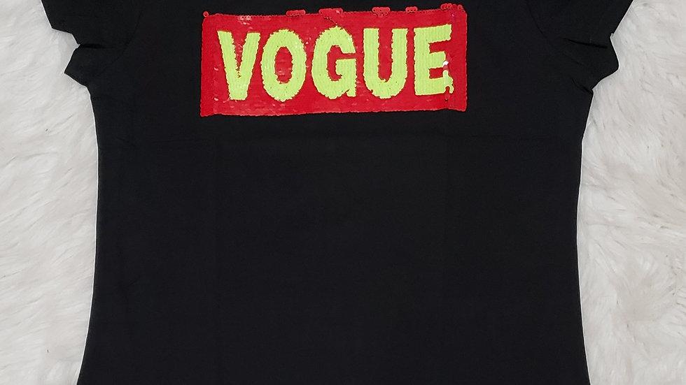 Vogue Inspired Fashion Tee