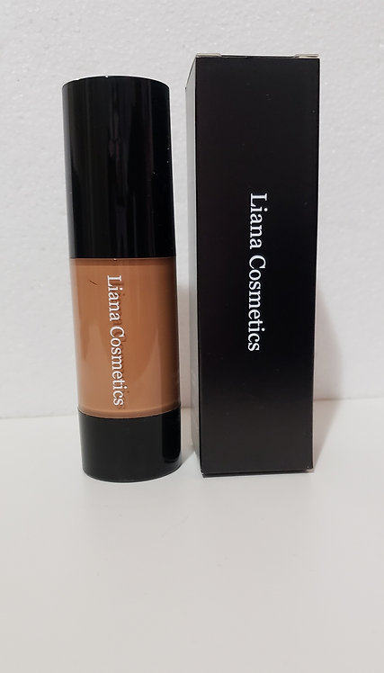 Face Liquid Foundation Cream Concealer,Moisturizing Oil Control Long Lasting