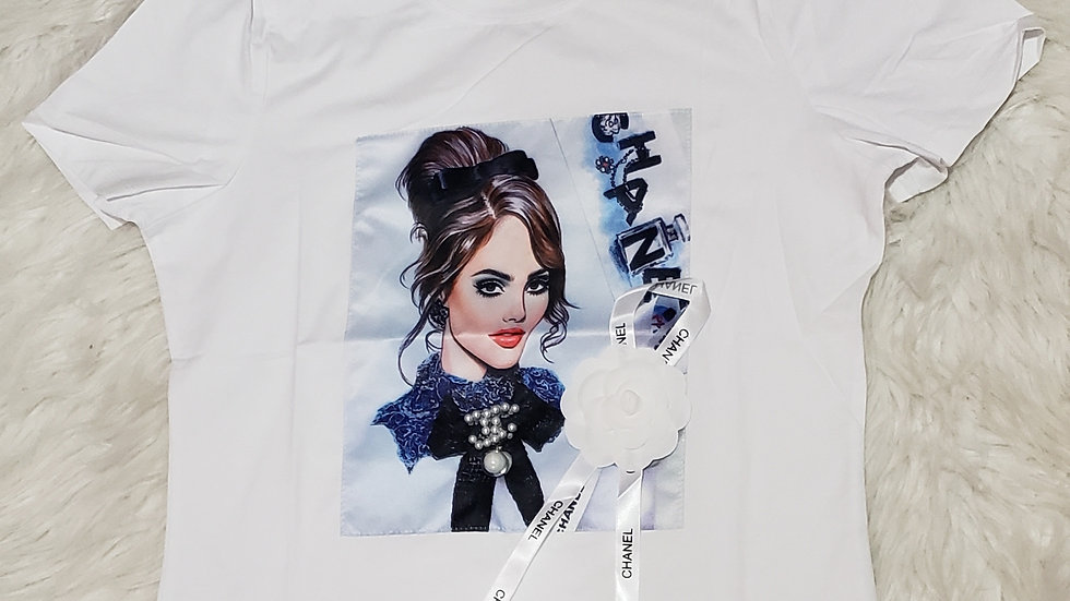 Chanel Inspired Fashion Tee