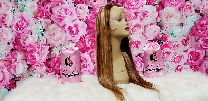 """#4/27 Lace frontal wig 18"""""""