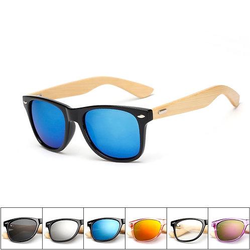 17 Color Wood Sunglasses Men Women Square Bamboo Women for Women Men  Handmade