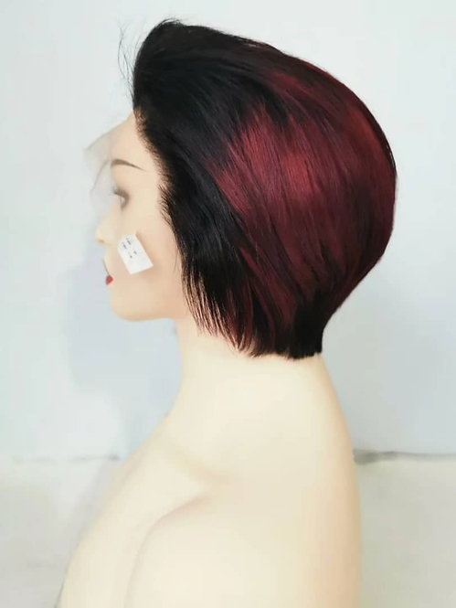 Shorcut frontal wig