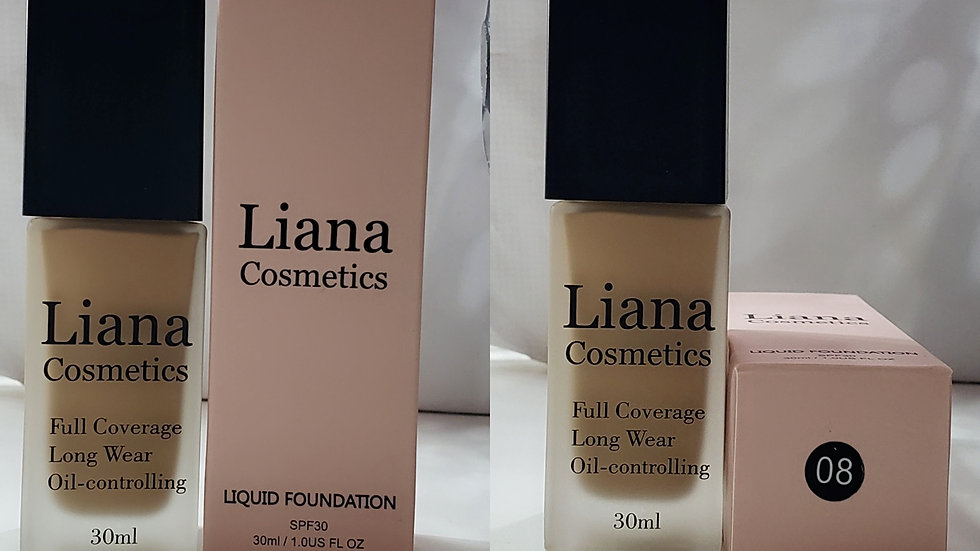 Long Lasting Liquid Concealer Foundation Oil Control
