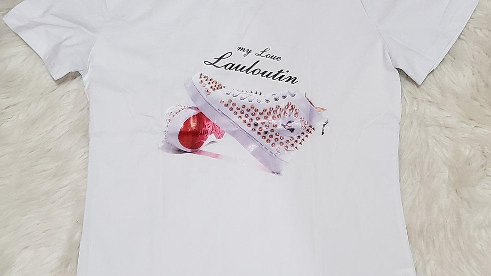 Louboutin Inspired Fashion Tee