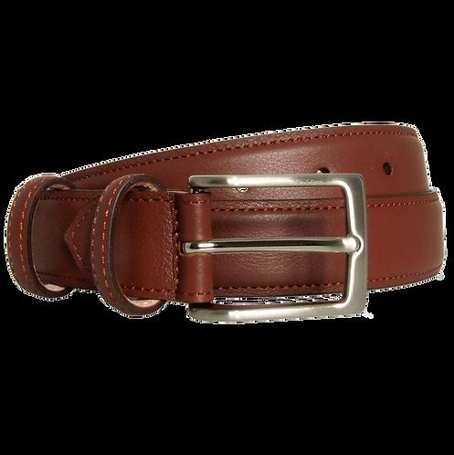 30 Mm Sartorial Fine-Grained Leather Belt Sienna