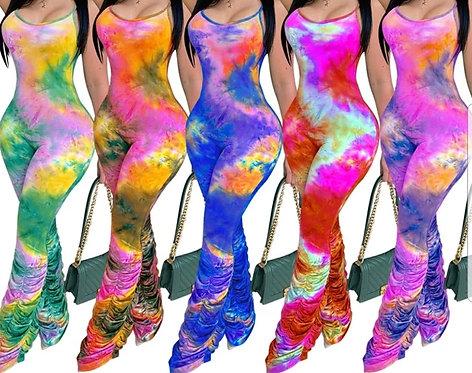 Tie-dye Jumpsuit