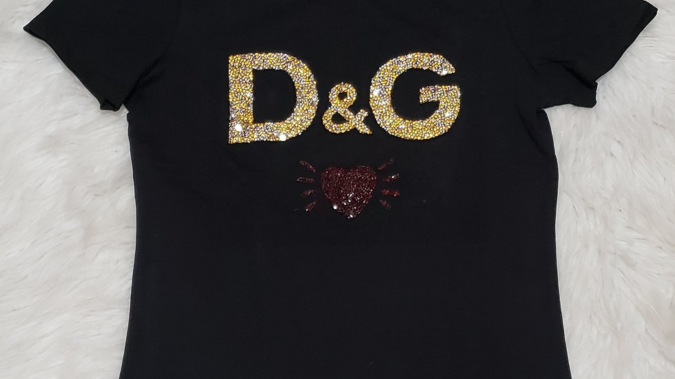D & G Inspired Fashion Tee