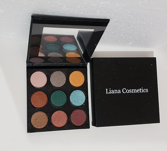Luxury leather eyeshadow Makeup palette,Shimmer Shine High Pigment