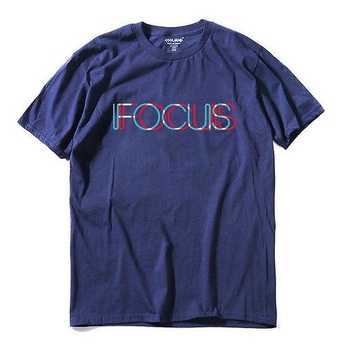 100% Cotton Short Sleeve Fucus Printed Tshirt