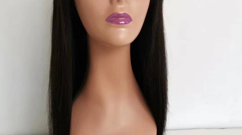 Lace closure wig 16""
