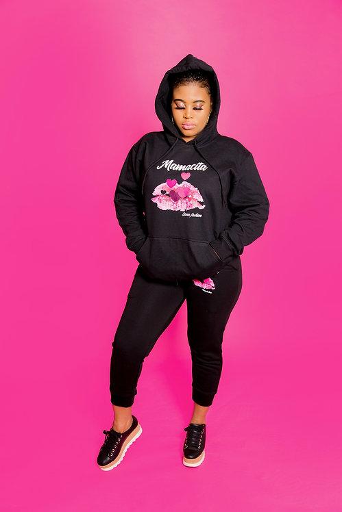 Liana Fashion.Graphic Sweater/Mamacita set