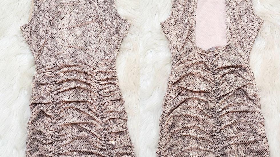 Glitter mini dress