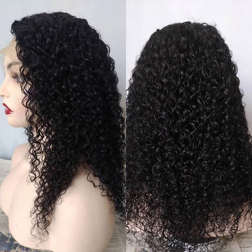 """Frontal lace wig, Natural curl 16"""""""