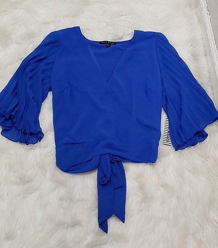 Royal blue Fashion blouse