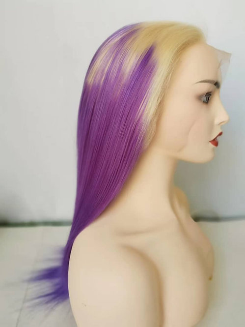 """Blonde Lilac Frontal wig 16"""""""