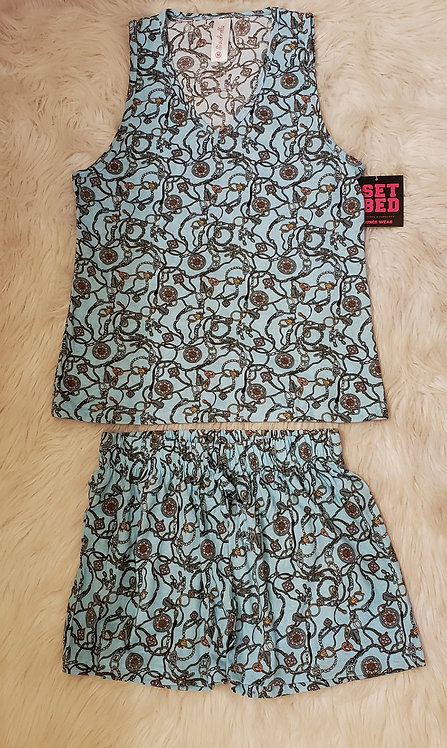 Two piece set/Sleepwear