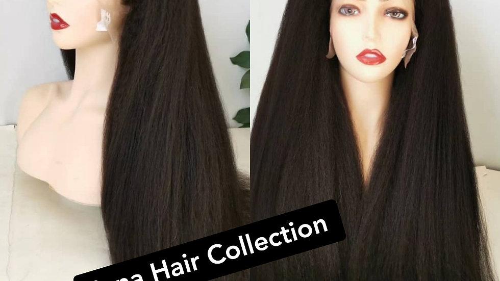 "Natural Hair 100% Human Hair 16"""